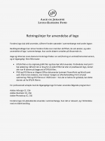 Betingelser for brug af logo